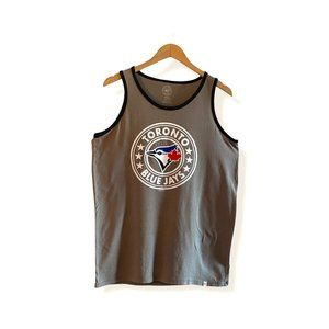 47 Brand Blue Jays Cafe Latte Tank Top Small